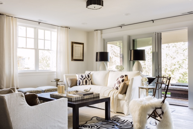 Family Room - Boston Design Home 2015